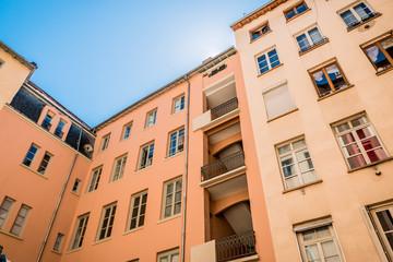 Immeubles de la Croix-Rousse à Lyon