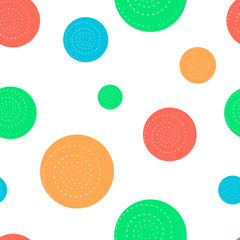 Summer polka dot pattern.2