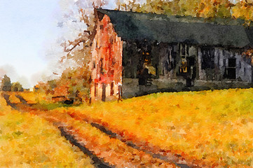 Vintage barn kentucky