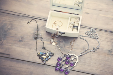 Necklaces and Boxes