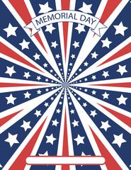 American patriotic celebration background design