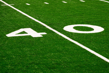 Football Field 40 Yard Line Picture