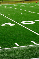 Picture of Football Field 40 Yard Line