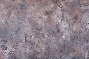 Grey, brown stone, concrete background pattern with high resolution. Top view Copy space.