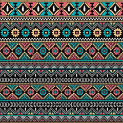 Fototapeta native ethnic seamless pattern obraz
