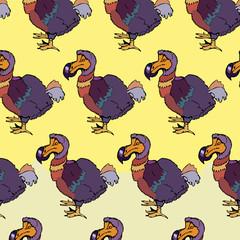 Sketch dodo bird.
