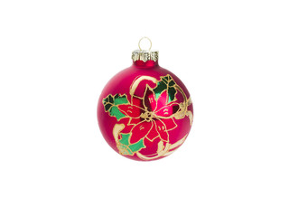 Christmas Ball Isolated on Whte Background