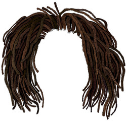 african hair dreadlocks .hairstyle wig