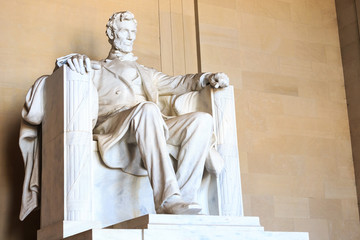 Abraham Lincoln monument in Washington