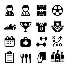 Soccer / football icon set