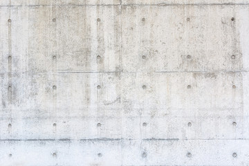 Fotorolgordijn Stenen Exposed Concrete wall