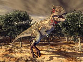 Dinosaurier Nanotyrannus