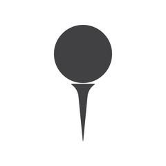 Golf ball icon.