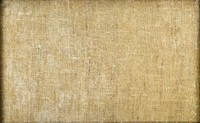 Background sackcloth frame