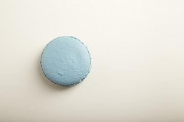 French blue macaron