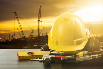 .Labor day tools and equipment for work