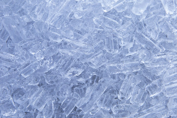 Closeup Cool ice cube background