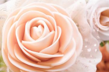 Center of rose.