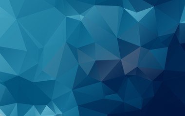 abstract background consisting of triangles illustration.eps.10