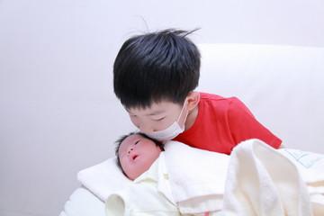 誕生,出産,兄妹
