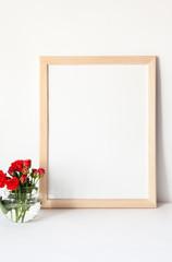 Roses mockup for presentations