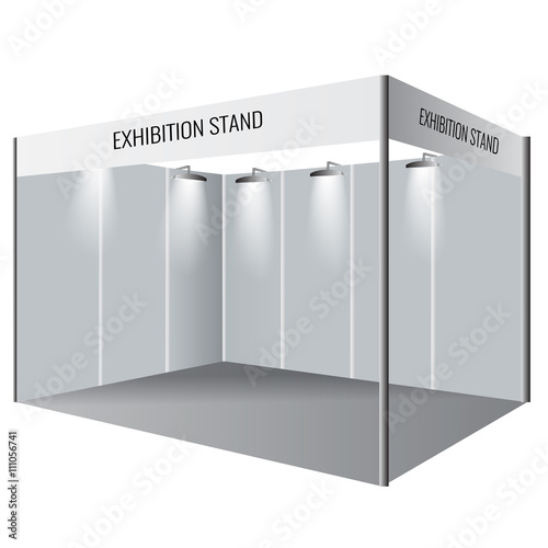 Exhibition Booth Vector Free Download : Quot creative exhibition stand design booth template
