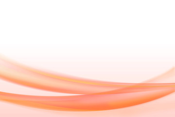 abstract red and orange color curve waves background