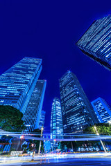 新宿高層ビルの夜景