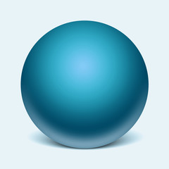 Sphere glass template