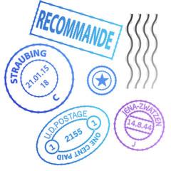 Set Postage stamp