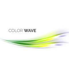 Shiny color wave