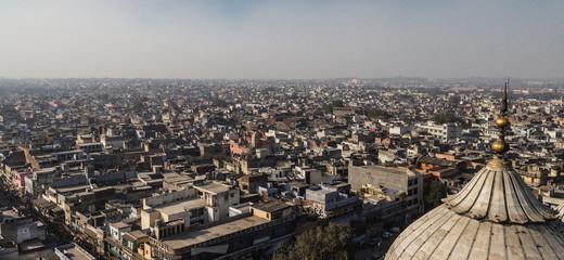 New Delhi rooftops