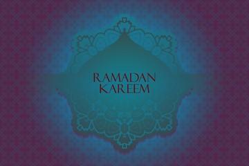 Ramadan greetings background