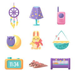 Baby Bedroom Elements Set