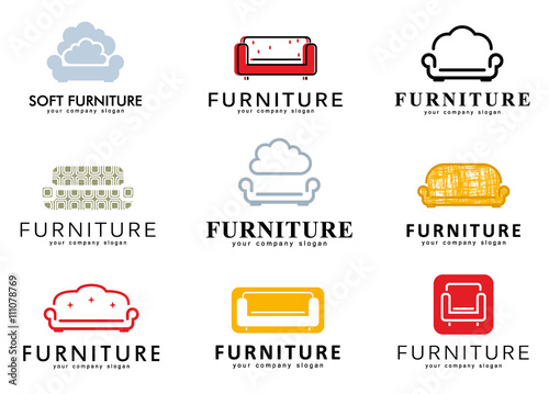 Quot Set Logo Emblem And Logo Elements For Furniture Store