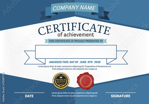 Blue certificate template vector illustration design eps blue certificate template vector illustration design eps illustrator 10 yelopaper Gallery