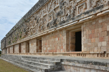 Governor's Palace - Uxmal, Yucatan Peninsula, Mexico.