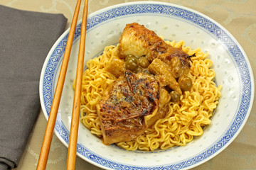 poulet sauce curry 19052016