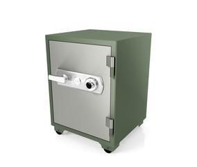 Safe box isolated