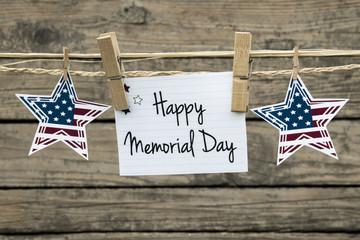 Memorial day card.