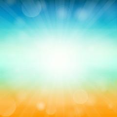 Summer time background - illustration. illustration of a glowing Summer time background.
