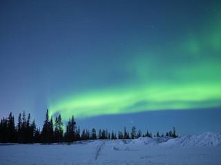 Nordlicht bei Kiruna