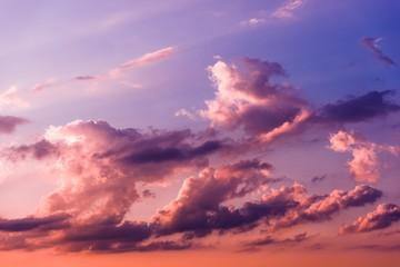 Sunset Cloudscape Background