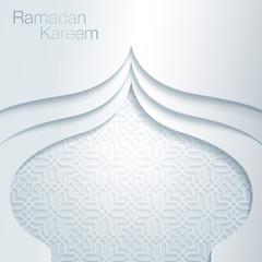 Ramadan Kareem Mosque Dome