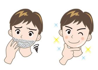メンズエステ・髭02