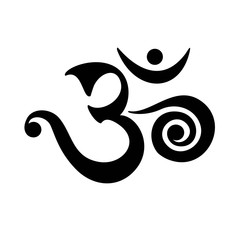 Om Mantra - the sound of life, buddhism, spiritual symbol, yoga, meditation