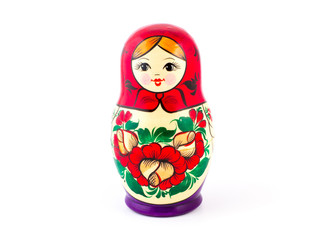 Russian nesting dolls. Babushkas or matryoshkas