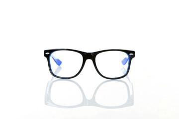 Eye Glasses  on White background,selective focus