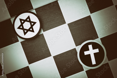 Draughts (Checkers) - Judaism vs Christianity - religious tension ...