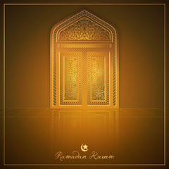 Ramadan Kareem banner background design